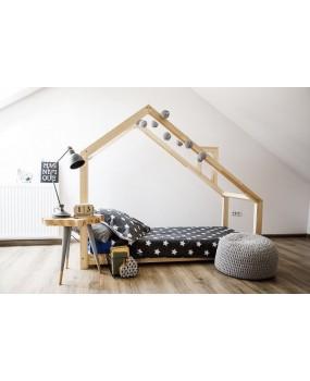 Łóżko domek drewniane Mila DMS