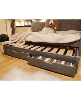 Łóżko domek drewniane dla dzieci TIPI 6